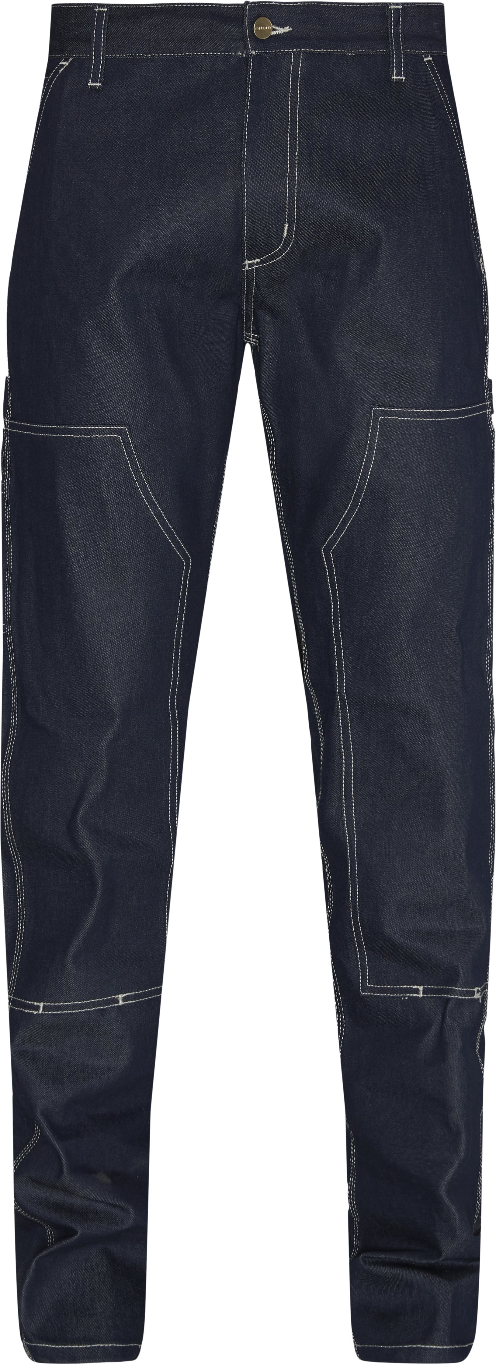 Ruck Double Knee Pant I022949 - Jeans - Tapered fit - Blå